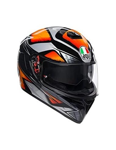 Casco Moto AGV K3 SV Liquefy Naranja